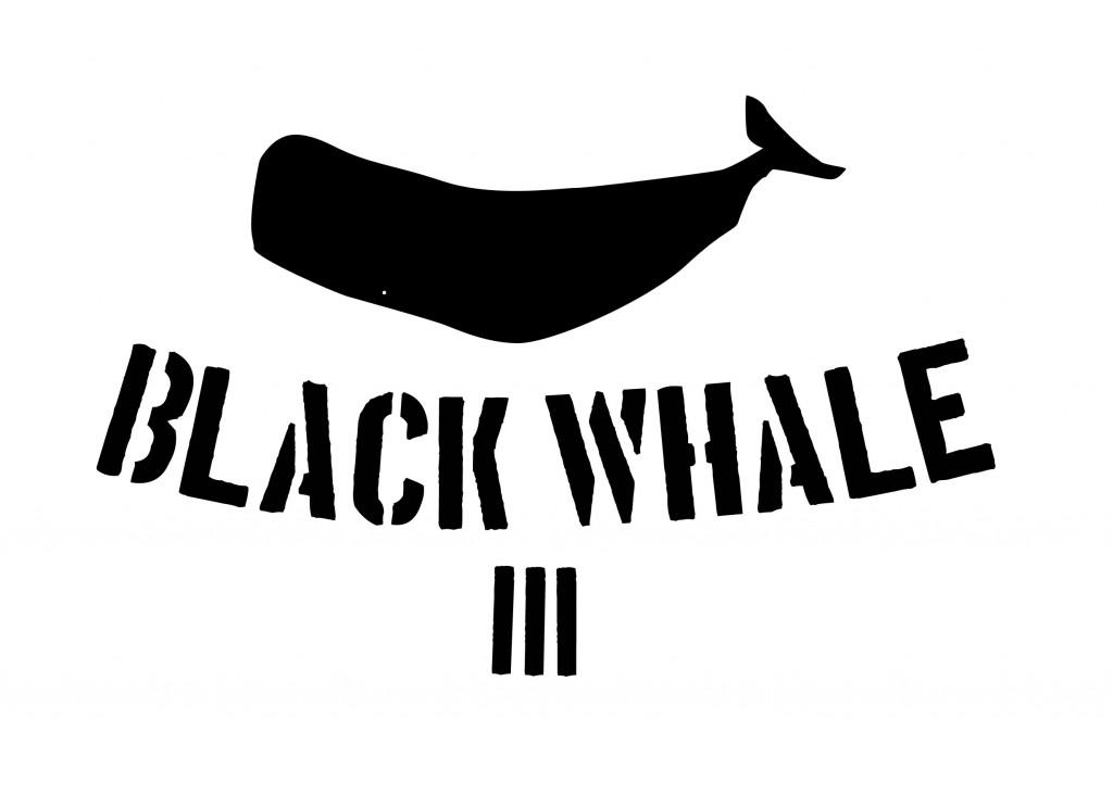Black Whale III Tee, Design 1