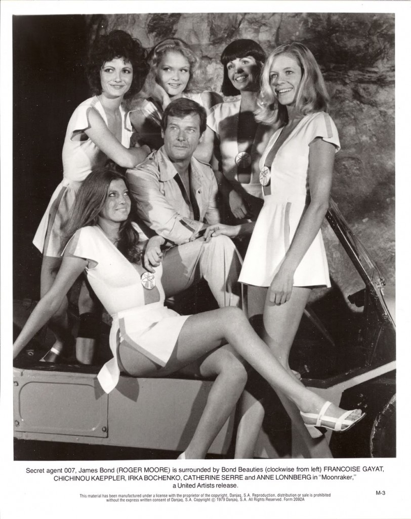 Moonraker Bond Girls