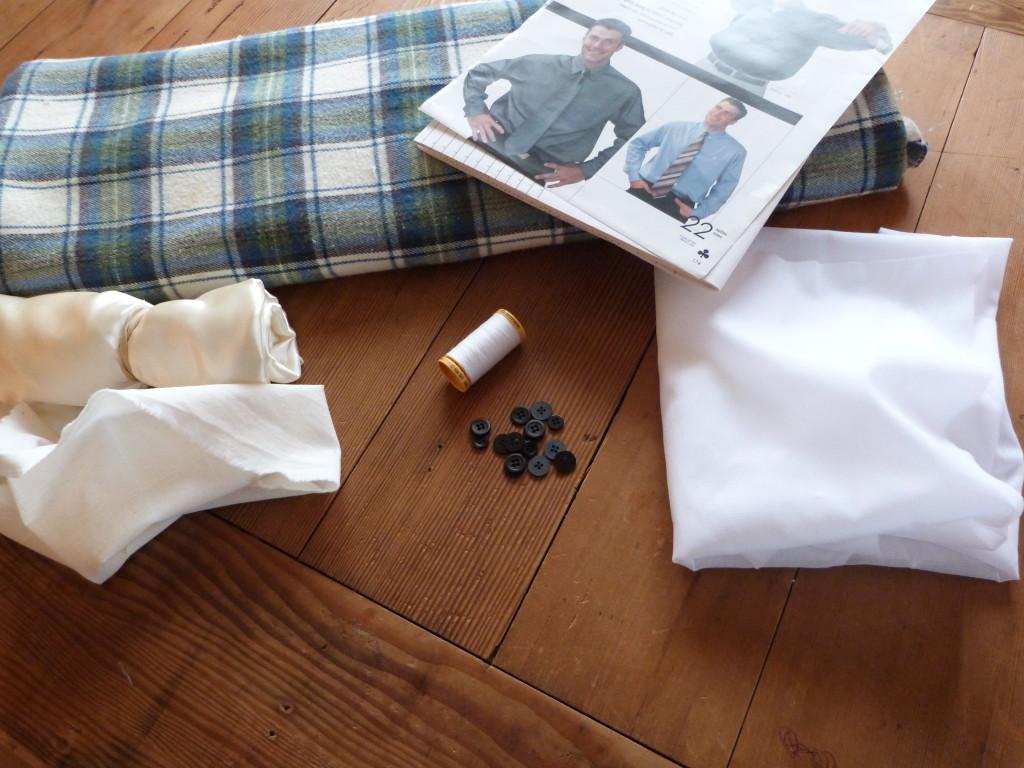 flannel shirt sew-a-long