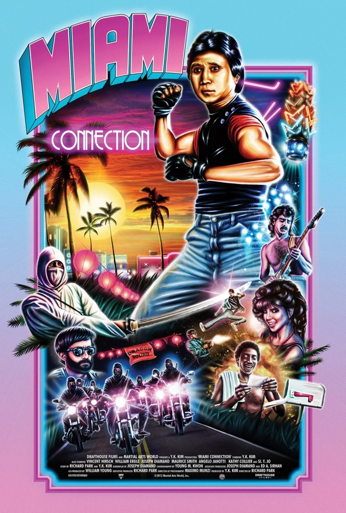 Miami Connection (1987) original poster