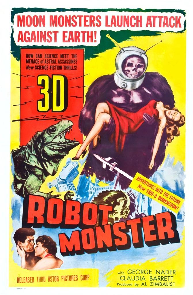 Robot Monster (1953) - poster