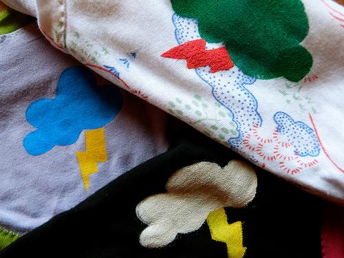 halloween motifs! – freezer paper stenciling (tutorial)