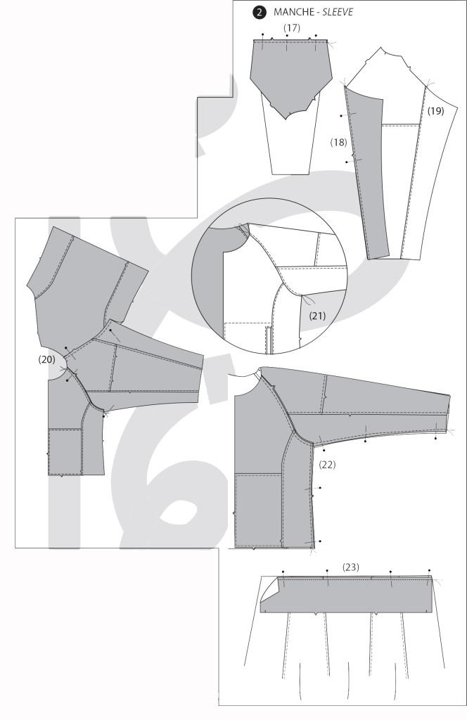 Jalie 2795: Step 2