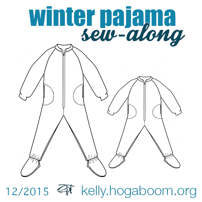 winter pajama sew-along: step 1