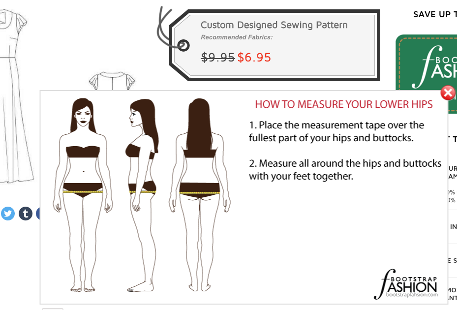 Bootstrap Fashion - How To Measure