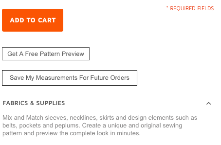 Bootstrap Fashion - Save These Measurements