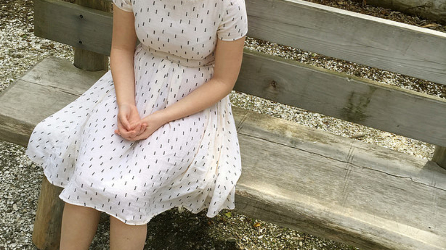 Summer Dress In Double-Gauze: Samples