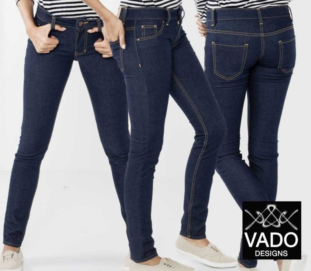 Vado Jeans Sew-Along, Pattern