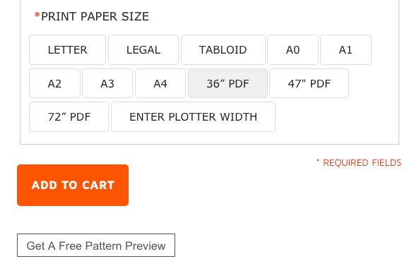 bootstrap free pattern preview