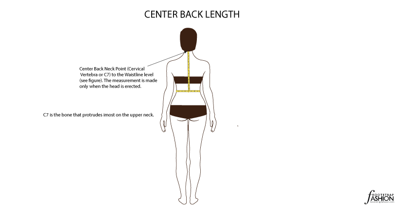 bootstrap measurement back length