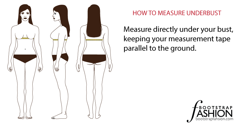 bootstrap measurement underbust