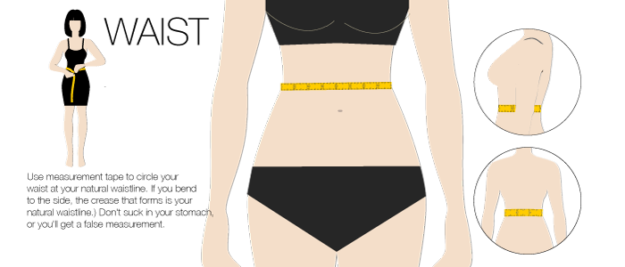 bootstrap measurement waist