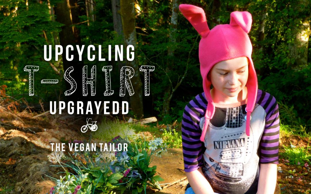 upcycling t-shirt upgrayedd