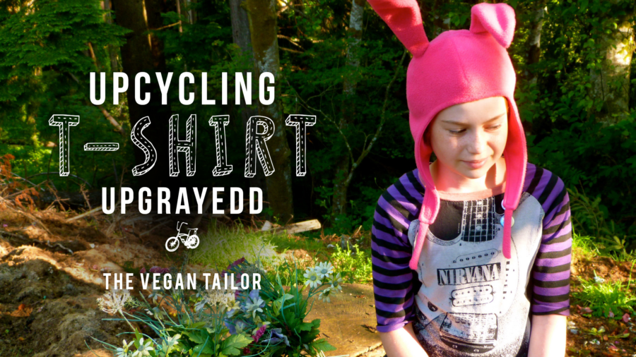 upcycling t-shirt upgrayedd