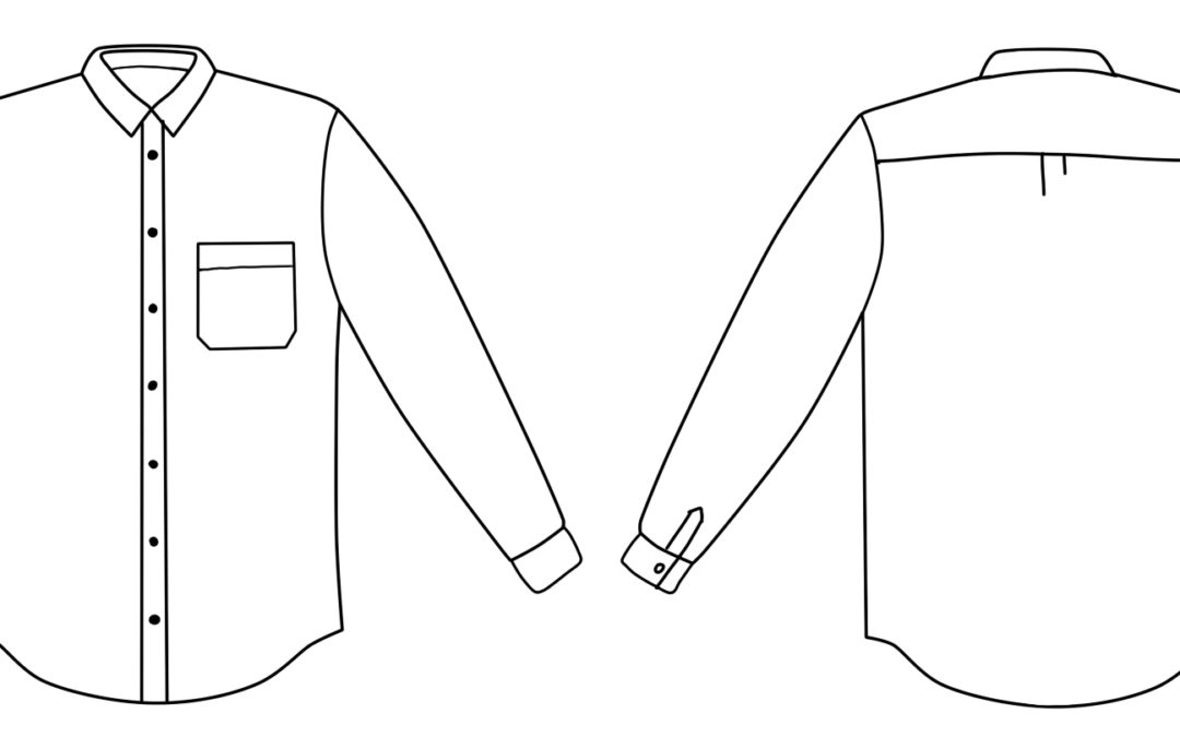 tutorial: converting a menswear-style shirt to clean finish