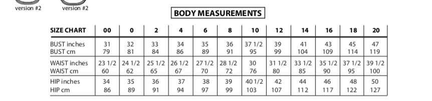 Merlo Field Tee, body measurements
