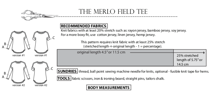 Merlo Field Tee, degree of stretch
