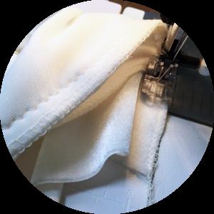 vegan tailor, clean finish inseam pocket