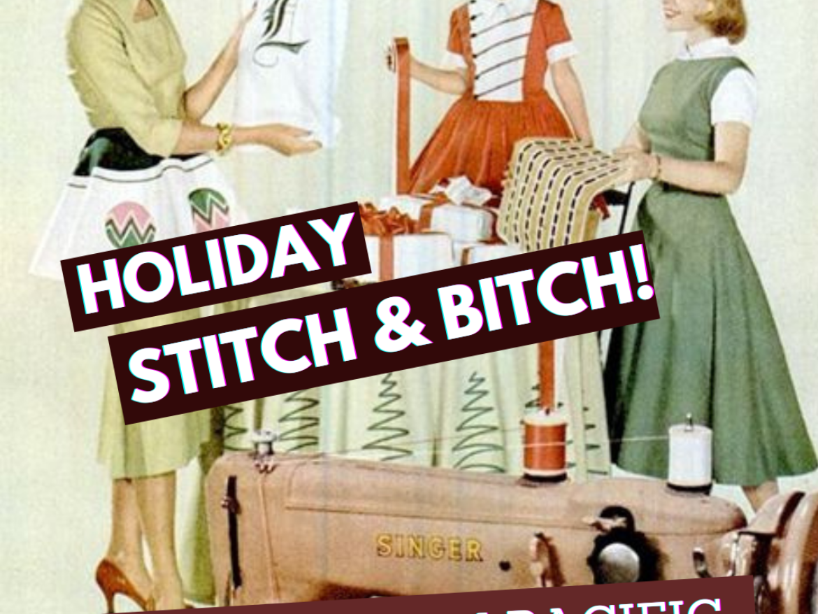 2020 Bespoke Hogaboom Holiday Stitch 'N' Bitch