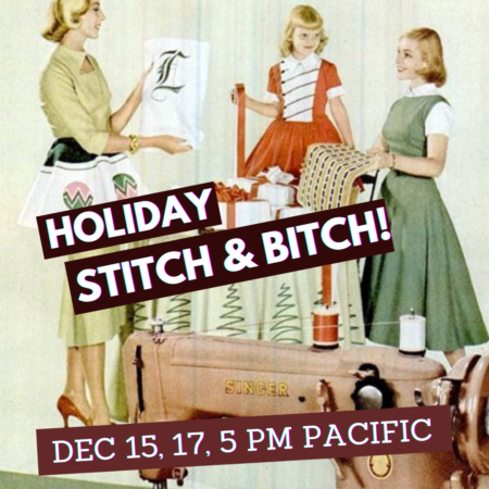 2020 Bespoke Hogaboom Holiday Stitch 'N' Bitch