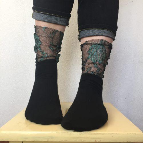 Bespoke Hogaboom, goth socks