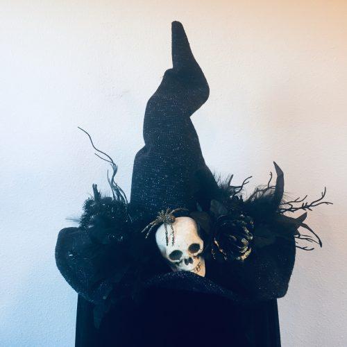 Bespoke Hogaboom, spook-along witch hat